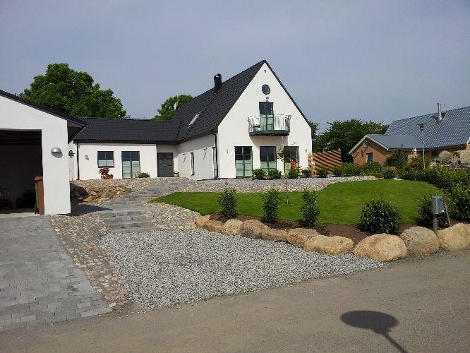 Nybyggnad av villa i Brantevik